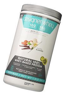 Designer Whey Premium Natural 100% Whey Protein, Vanilla