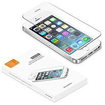 iPhone 5 5S SE screen protector, UPPERCASE Premium Tempered