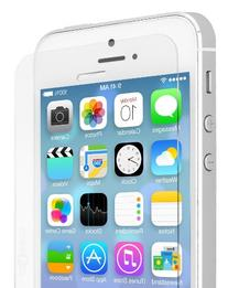 Voxkin Tempered Glass Screen Protector for iPhone 5S / 5 /