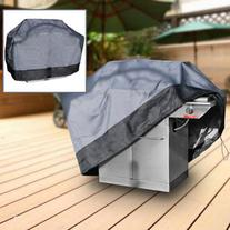 Durable Barbeque Gas Propane Grill Cover Gray Medium 59""