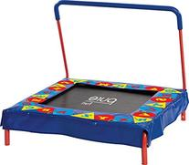 "Pure Fun Kids Preschool Jumper: 36"" Mini Trampoline with"