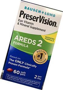 Bausch & Lomb PreserVision AREDS 2 Formula Eye Vitamin Soft