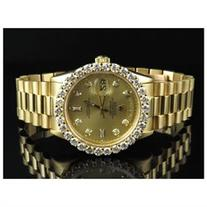 Rolex President 18K Yellow Gold Day-Date President Diamond