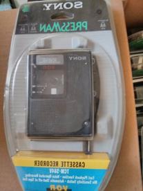 Sony Pressman TCM-S64V Cassette Recorder