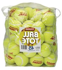 Tourna Pressureless Tennis Balls with Vinyl Tote
