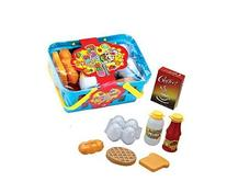 Gift Idea | Pretend Play Food Basket Set - 10 Piece Learning