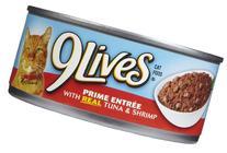 9Lives Prime Entree - Tuna & Shrimp - 24 x 5.5 oz