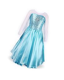 ReliBeauty Girls' Princess Elsa Fancy Dress Costume