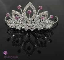 NEW PRINCESS HALLOWEEN COSTUME Crystal Crown Tiara H53