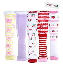 Deer Mum 10 Pairs Girl's Princess Style Knee High Socks