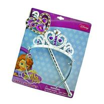 Disney Princess Sofia the First Tiara and Wand Set - Silver