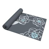 Gaiam Premium Print Yoga Mat, Taos Alignment, 5mm