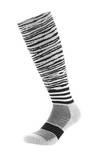 Samson Hosiery ® Print Zebra Socks | Soccer Baseball Hockey