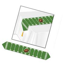 """Printed Game Day Football Table Runner - 11"""" x 6"""