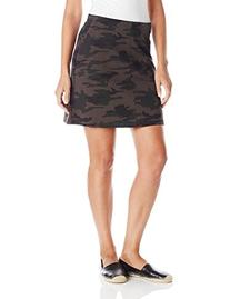 Sanctuary Clothing Women's Camo Printed Ponte Easy Mod Skirt