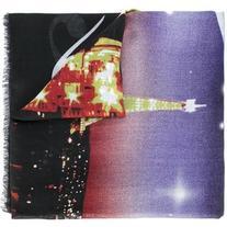 Balenciaga - printed scarf - women - Silk/Modal - One Size