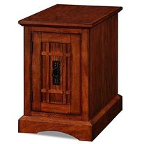 Leick Furniture Printer Stand, Mission Oak