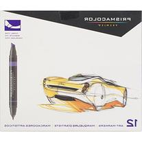 Prismacolor Premier Double-Ended Art Markers, Primary/