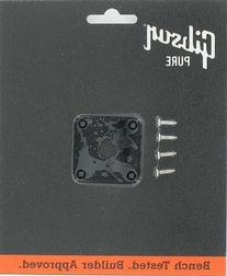 Gibson Gear PRJP-010 Jack Plate, Black Plastic