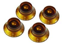 Gibson Gear PRKH-030 top hat knobs  / amber