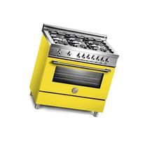 "Bertazzoni PRO366GASGI Pro 36"" Gas Range in Giallo Yellow"