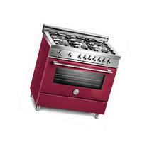 "Bertazzoni PRO366GASVI Pro 36"" Gas Range in Vino with 6"