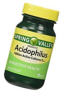 Spring Valley Probiotic Acidophilus Caplets, 30 count