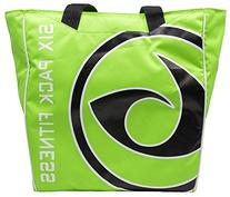 6 Pack Fitness Prodigy Camille Meal Management Tote Lime/