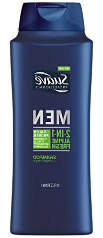 Suave Professionals Mens, 2 in 1 Shampoo/Conditioner, Alpine