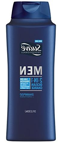 Suave Professionals Men Ocean Charge 2-in-1 Shampoo +