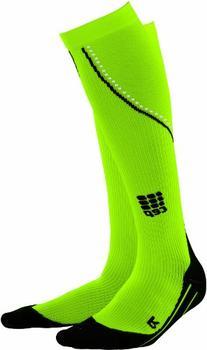 CEP Women's Progressive Running Night Sock, Small , Neon