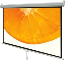 "100"" Projector Screen 16:9 Projection HD Manual Pull Down"