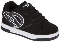 Heelys Boys Propel 2.0 Black/White Skate Sneakers Shoes Sz: