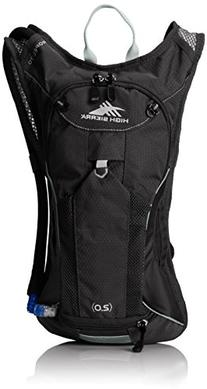 High Sierra Propel 70 Hydration Pack, Black/Black/Silver