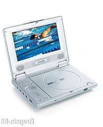 """7"""" Protable Widescreen DVD Player"""