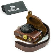 """MegaGear """"Ever Ready"""" Protective Dark Brown Leather Camera"""