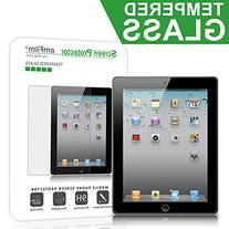 iPad 2, 3, 4 Screen Protector Glass, amFilm Glass Screen