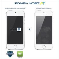 Tech Armor High Definition Clear Screen Protector for iPhone
