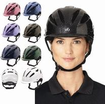 Ovation Women's Protege Riding Helmet Grey S/M US