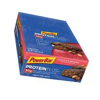 PowerBar Protein Plus Bars, Chocolate Brownie, 30g Protein,