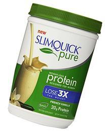 SLIMQUICK Pure Protein Powder, Vanilla, 300 Gram