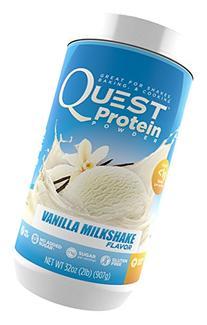 Quest Nutrition Protein Powder, Vanilla Milkshake, 32 oz