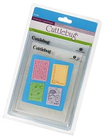 Provo Craft Cuttlebug Embossing Folders, Coolio