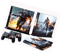 PS4 skins battle field 4 vinyl decal BF4 cover for Sony