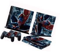 PS4 skins spiderman vinyl decal cover for ps 4 console and 2