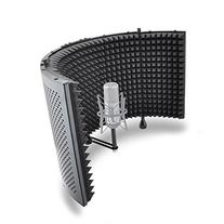 Studio Microphone Foam Shield Soundproofing Acoustic Panel Soundproof Filter   Sound Diffusion Mic Booth Shield   Insulation Diffuser Noise Deadening