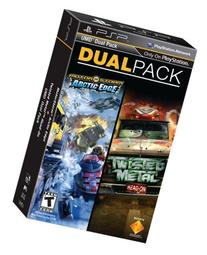 PSP Dual Pack - MotorStorm: Arctic Edge and Twisted Metal:
