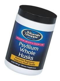 the Vitamin Shoppe Psyllium Whole Husk Powder 12 Powder