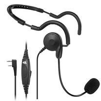 2 PIN PTT MIC Headphone Headset Earpiece for Baofeng UV-5R