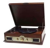 Bluetooth Compatible Classic Vintage Turntable - Retro